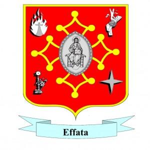 Blason X roi effata